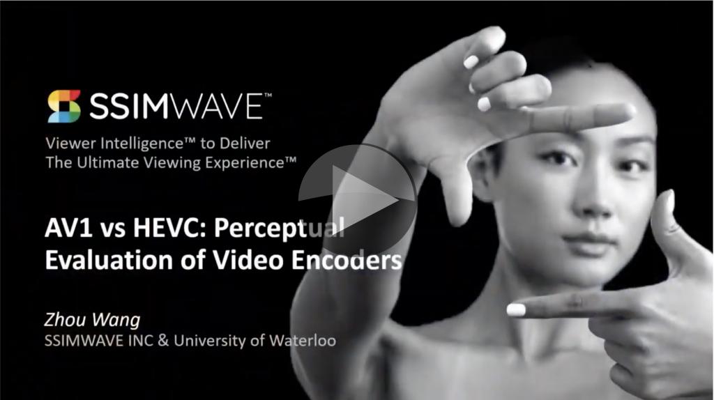 Video: AV1 vs  HEVC: Perceptual Evaluation of Video Encoders